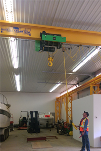 Overhead Crane Operator - Workplace Training