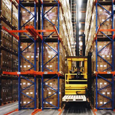 narrow aisle reach truck workplace forklift training