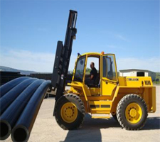 Forklift Training Rough Terrain